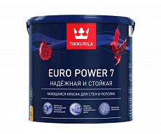 Краска Tikkurila Euro Power 7 (Евро Пауэр 7)